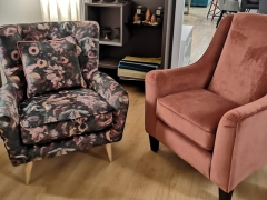 Accent-Armchairs-in-Plain-and-Floral-Velvet-at-KIlcroneyFurniture