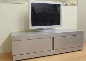 Grey Metal TV Unit (1 Drawer, 1 Pulldown).jpg