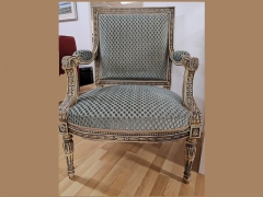 Louis-X1V-inspired-Ornate-Chair-in-Soft-Blue-unique-not-to-be-repeated-at-KIlcroney-Furniture