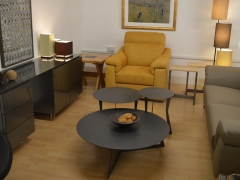 Mustard-Chair-with-Sideboard