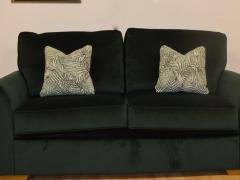 Sofa-Bed-in-Deep-Green-Velvet