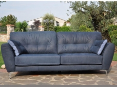 Una-sofa-in-matt-leather-with-lattice-insert-at-Kilcroney-Furniture
