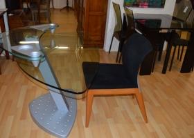 Unique Glass and Metal Desk Kilcroney Furniture Wicklow Furniture