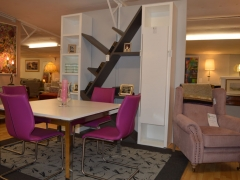 Fireside Chair in Blush Pink. Other Colours Available. Kilcroney Furniture Wicklow Furniture