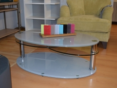 Glass Coffee Table Available in Various Colours incl. Two-Tone Kilcroney Furniture Wicklow Furniture