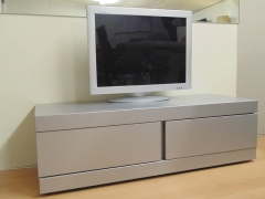 Grey Metal TV Unit (1 Drawer, 1 Pulldown).jpg