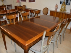 Large Cherrywood Extension Table Kilcroney Furniture Wicklow Furniture