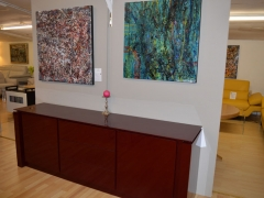 Large Maroon Lacquered Sideboard Kilcroney Furniture Wicklow Furniture