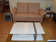Leather Sofa with Adjustable Headrests and Arms. Kilcroney Furniture Wicklow Furniture