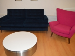 Navy-Sofa-Pink-Accent-Chair