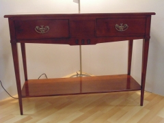 Solid Cherrywood 2 Drawer 1 Shelf Consoles.jpg