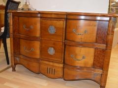 Solid Cherrywood Chest with Secret Drawer Kilcroney Furniture Wicklow Furniture