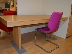 Solid Oak Dining Table Availabe in Various Finishes. Made in Belgium. Kilcroney Furniture Wicklow Furniture