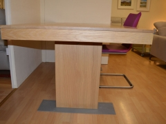 Solid Oak Dining Table in Various Finishes. Made in Belgium. Kilcroney Furniture Wicklow Furniture