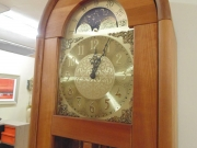Modern Free Standing Clock with Chimes in a Cherrywood Case.jpg
