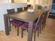 Smoked Oak Table was €1,975 now€995 Chairs were €395 now half price €195 each