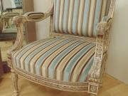 Stripe Fabric Painted Frame Armchair.jpg