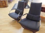 Black Leather Swivel Armchair on Chrome Base.jpg