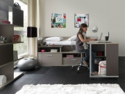 Dimix exceptionally versatile bed with storage and pull out desk Was €1,995 now €1,350