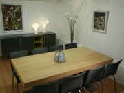 Oak Dining Table was €1,645 now €1,195 Stretch Chairs now €280 each