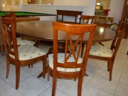 Solid Round Extending Cherrywood Table Exclusive to Kilcroney Furniture POR