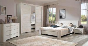 KILCRONEY_FURNITURE_BEDROOM_Latte-King-size-bed-in-Whitewash-Cherrywood