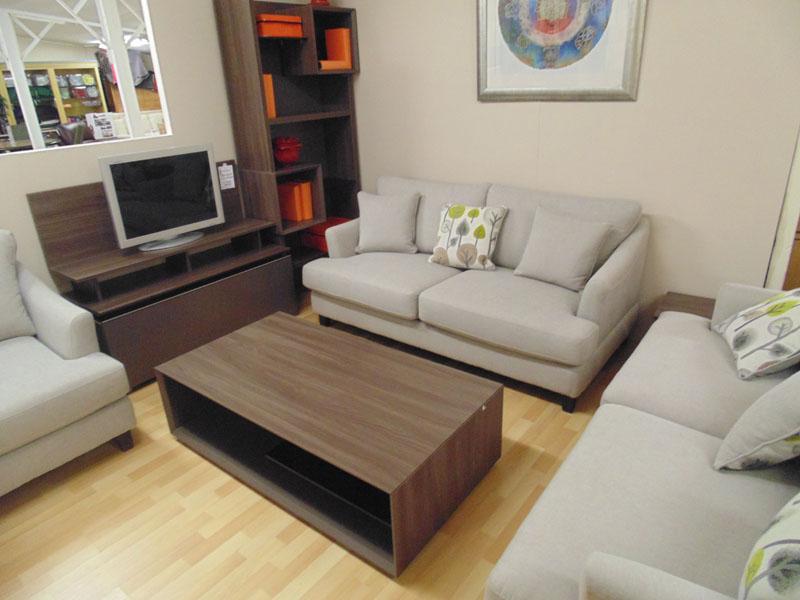 artigo tv unit and bookcase and coffee table and 1 or 2 or 3 sofas