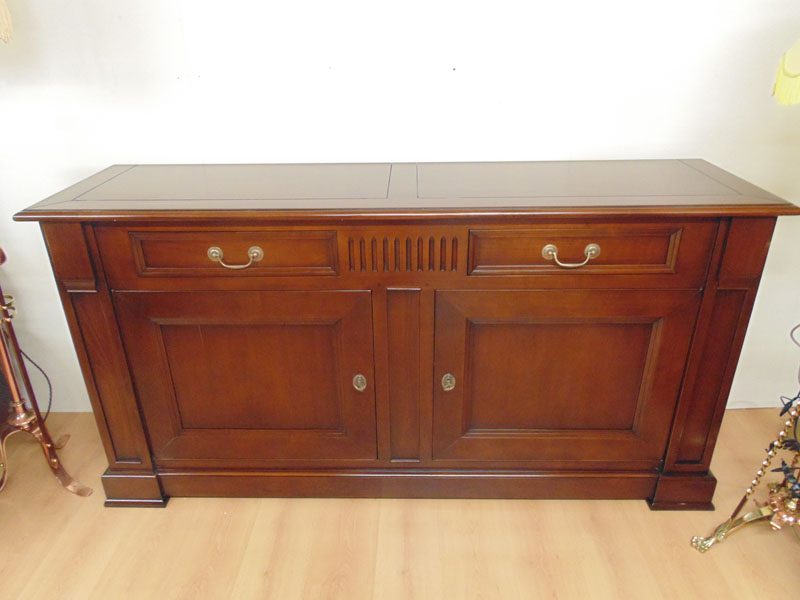 Large Solid Cherrywood Sideboard