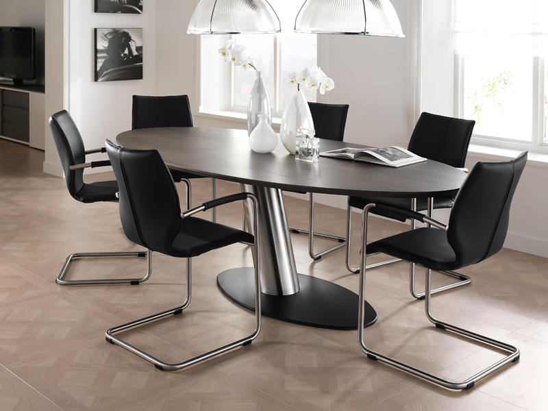 Basic table with luna chairs kilcroney furniture for Basic dining table