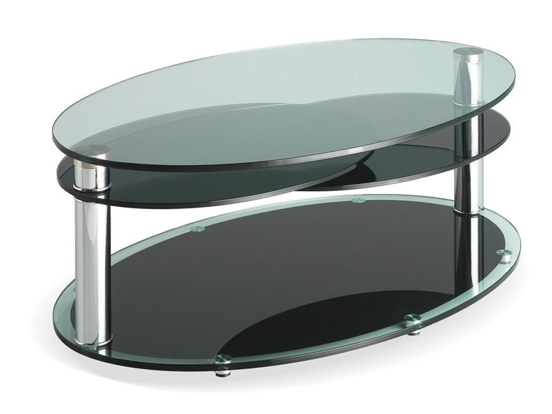 Motard Manhattan Oval Coffee Table