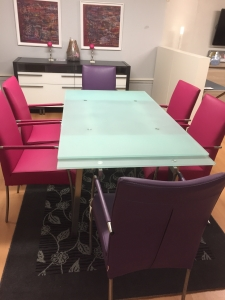 Kilcroney Furniture Extending Glass Table