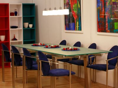 Glass-Dining-Table-&-Belgo-Chrome-Dining-Chairs-Kilcroney-Furniture