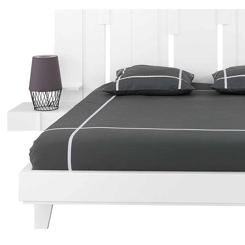 SYMPHONIE-160-Bed-in-White-ps