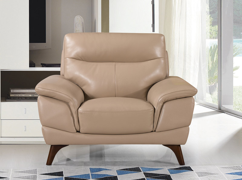 Simona-1-Seater-Taupe---Straight-LS-KIlcroney-Furniture