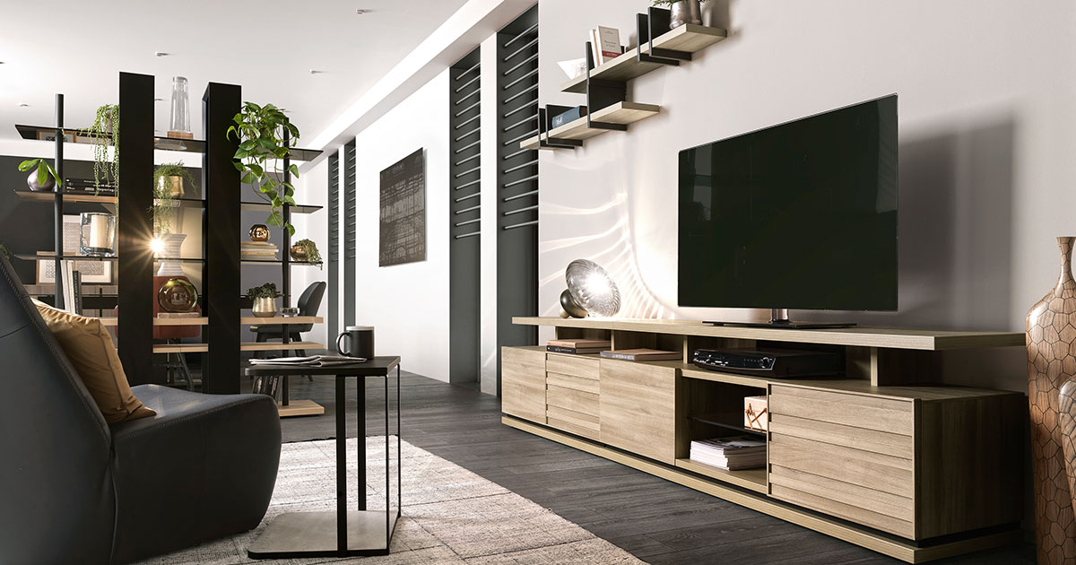 KILCRONEY_FURNITURE_LIVING_Natura-TV-Unit-and-Bookcase-Display