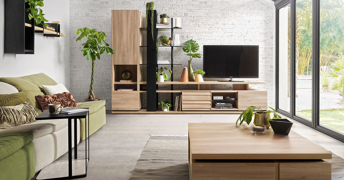 KILCRONEY_FURNITURE_DINING_Natura TV Stand and Coffee Table