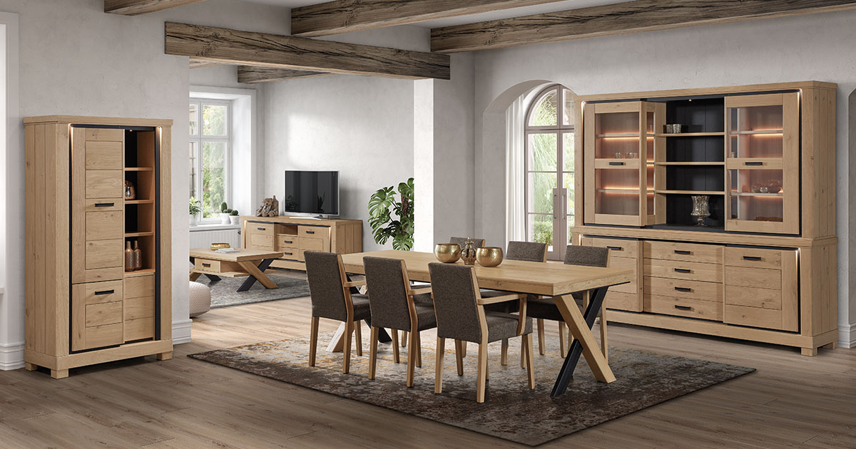 KILCRONEY_FURNITURE_DINING_Dublin-200cm-Fixed-Dining-Table-in-Oak