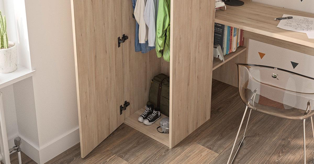 KILCRONEY_FURNITURE_KIDS_TEENS_HANS_High-Bed-Storage