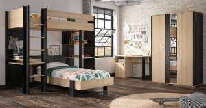 KILCRONEY_FURNITURE_KIDS_TEENS_LEXI_Mezzanine-Bed-Single-Bed-and-Wardrobe