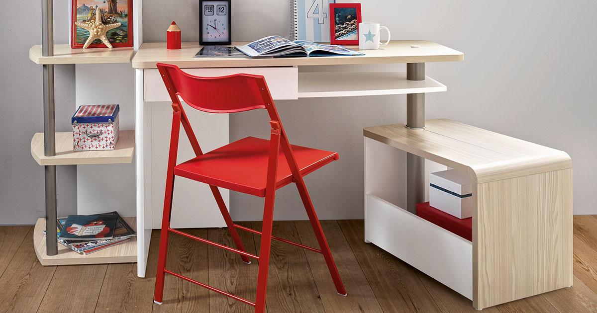 KILCRONEY_FURNITURE_KIDS_TEENS_Mistral-Bookcase-Desk-with-optional-desk-return-World-Map-wall-shelf