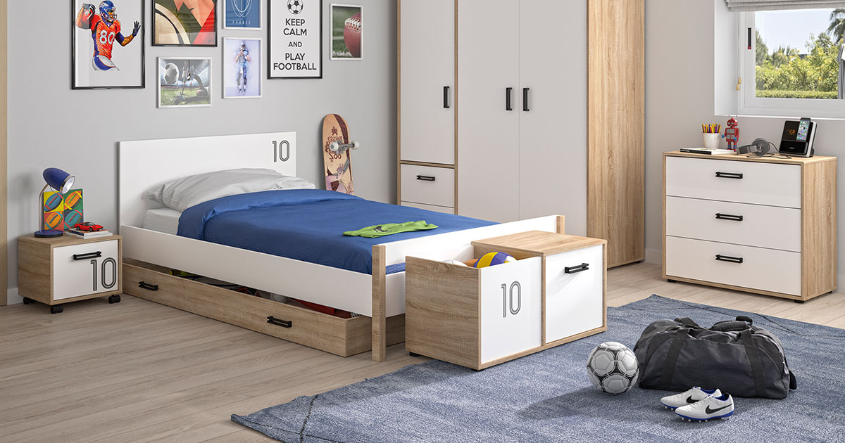KILCRONEY_FURNITURE_KIDS_TEENS_Single-Bed-Wardrobe-Chest-Storage-and-Locker