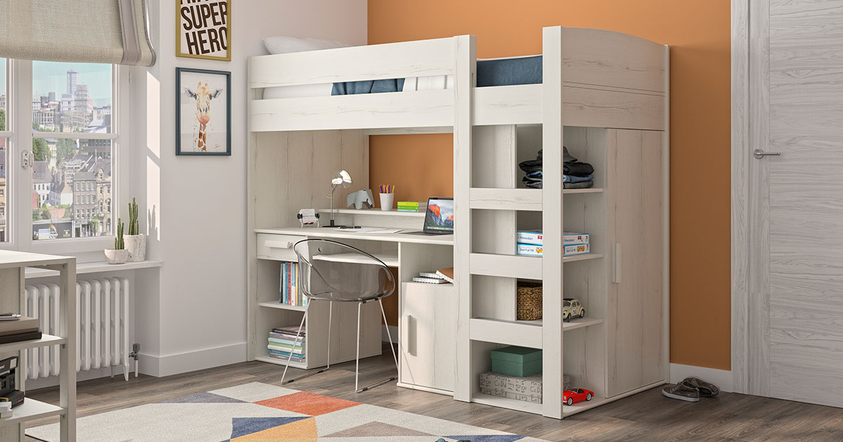 KILCRONEY_FURNITURE_KIDS_TEENS_Tana-Mezzanine-Bed-in-Whitewashed-Oak