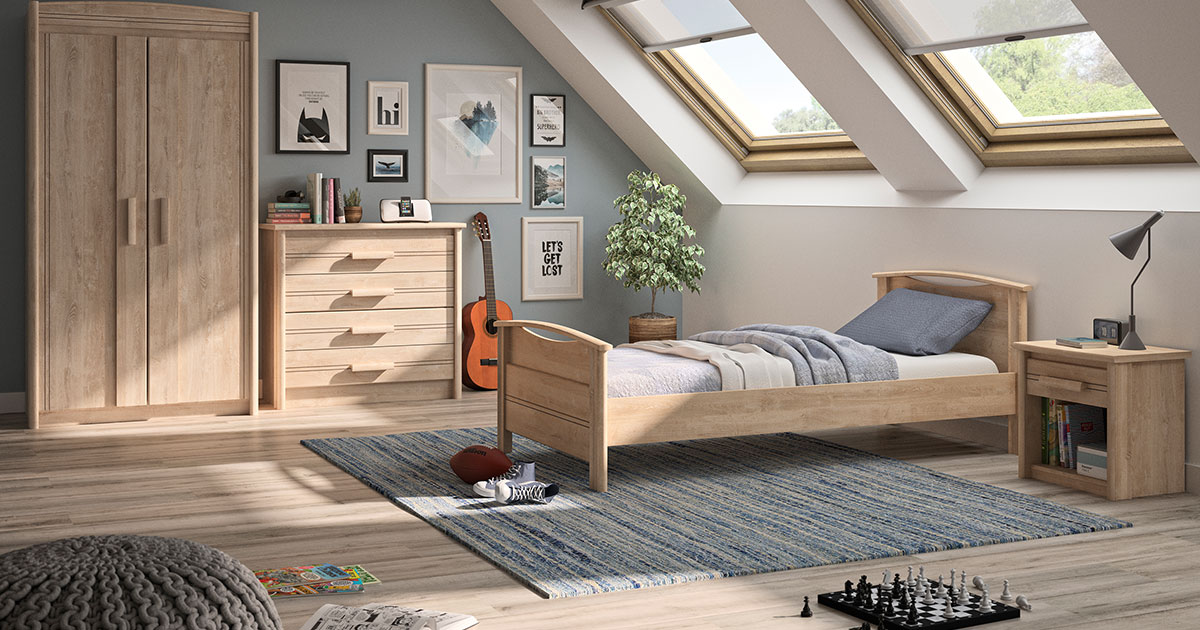 KILCRONEY_FURNITURE_KIDS_TEENS_Tana-Single-Bed-Wardrobe-and-Chest-in-Blond-Oak