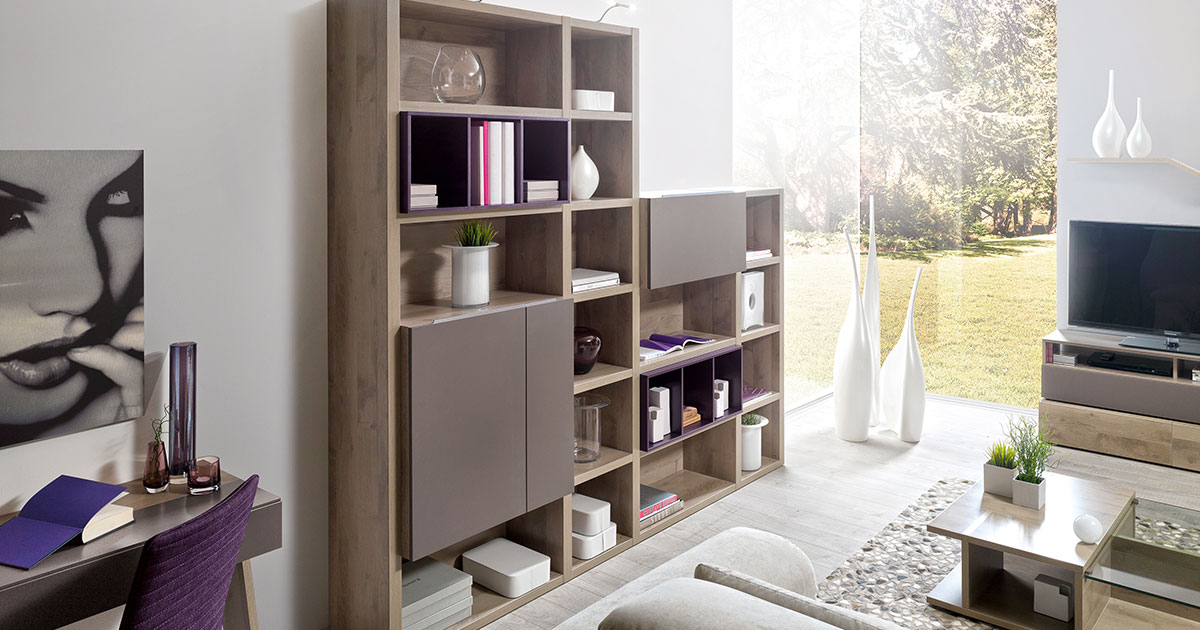 KILCRONEY_FURNITURE_LIVING_Preface-Storage-and-bookcases-in-Sierra-Oak-Finish
