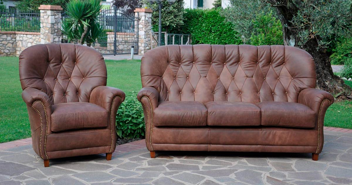 KILCRONEY_FURNITURE_SOFAS_Orr-Sofa-and-Armchair-in-Leather-with-stud-detail