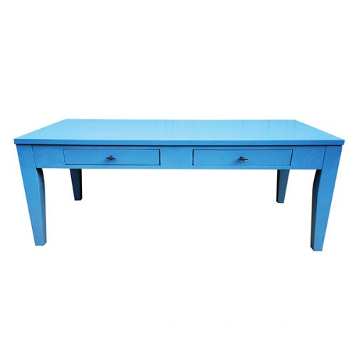 Blue-Rectangular-Coffee-Table