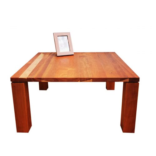 Solid Cherrywood Square Coffee Table
